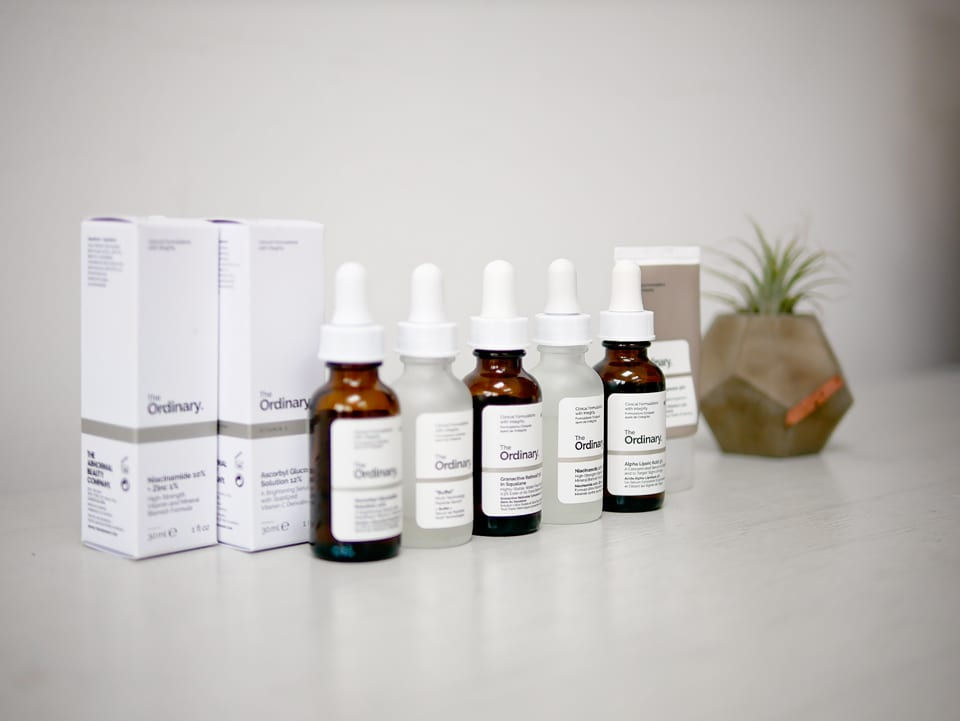 The Ordinary skincare routine. How to use the ordinary products.