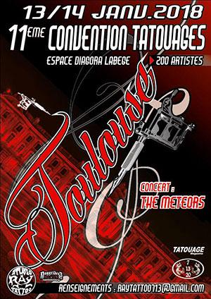 Salon du tatouage 11ème édition Toulouse