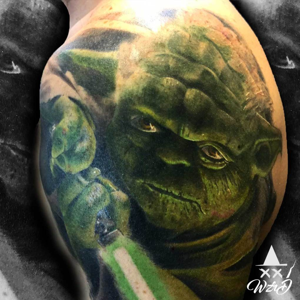 Tatouage star Wars