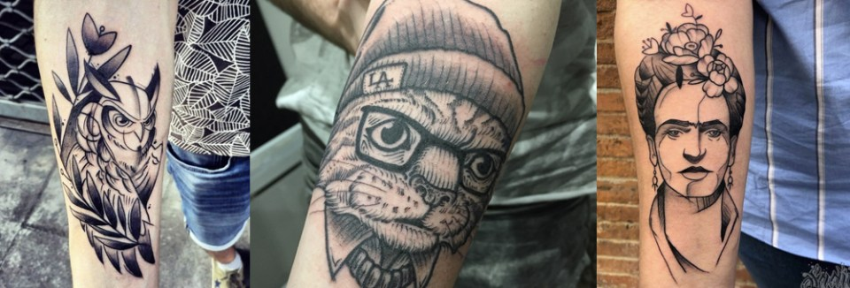 tatouage graphic