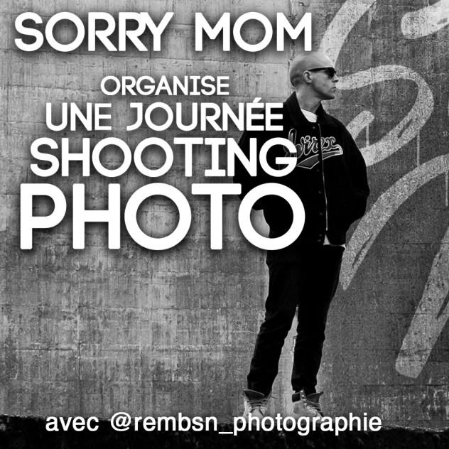 Journée shooting photo @ Sorry Mom Tatouage
