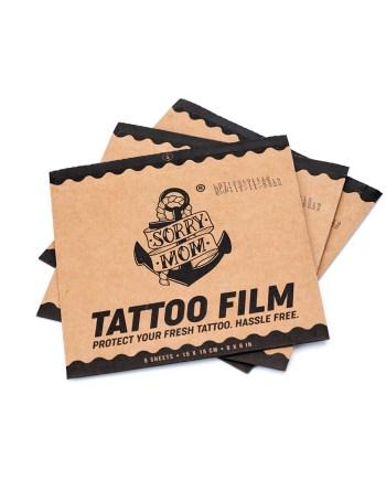 Tattoo film | Sorry Mom Romania - Proper Tattoo Care