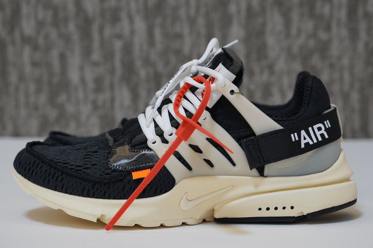 THE 10 NIKE AIR PRESTO OFF WHITE