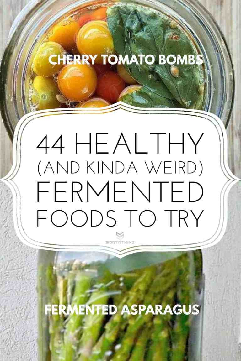 Fermented Cherry Tomatoes & Asparagus