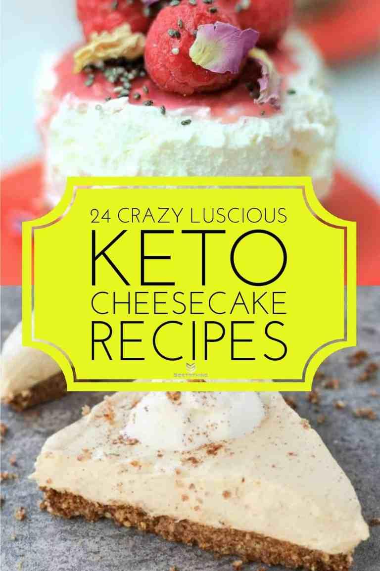 Keto Raspberry No-Bake Cheesecake & Keto Pumpkin Cheesecake