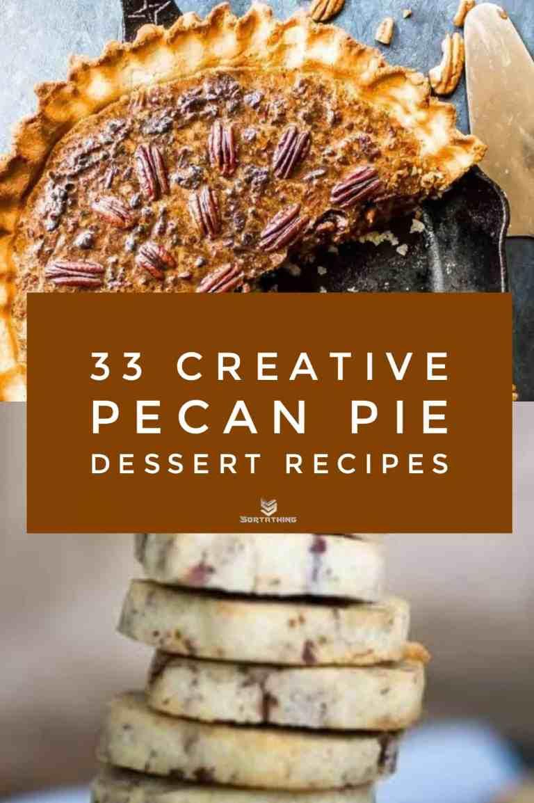 Keto Pecan Glazed Pumpkin Pie & Classic Low Carb/Keto Pecan Sandies