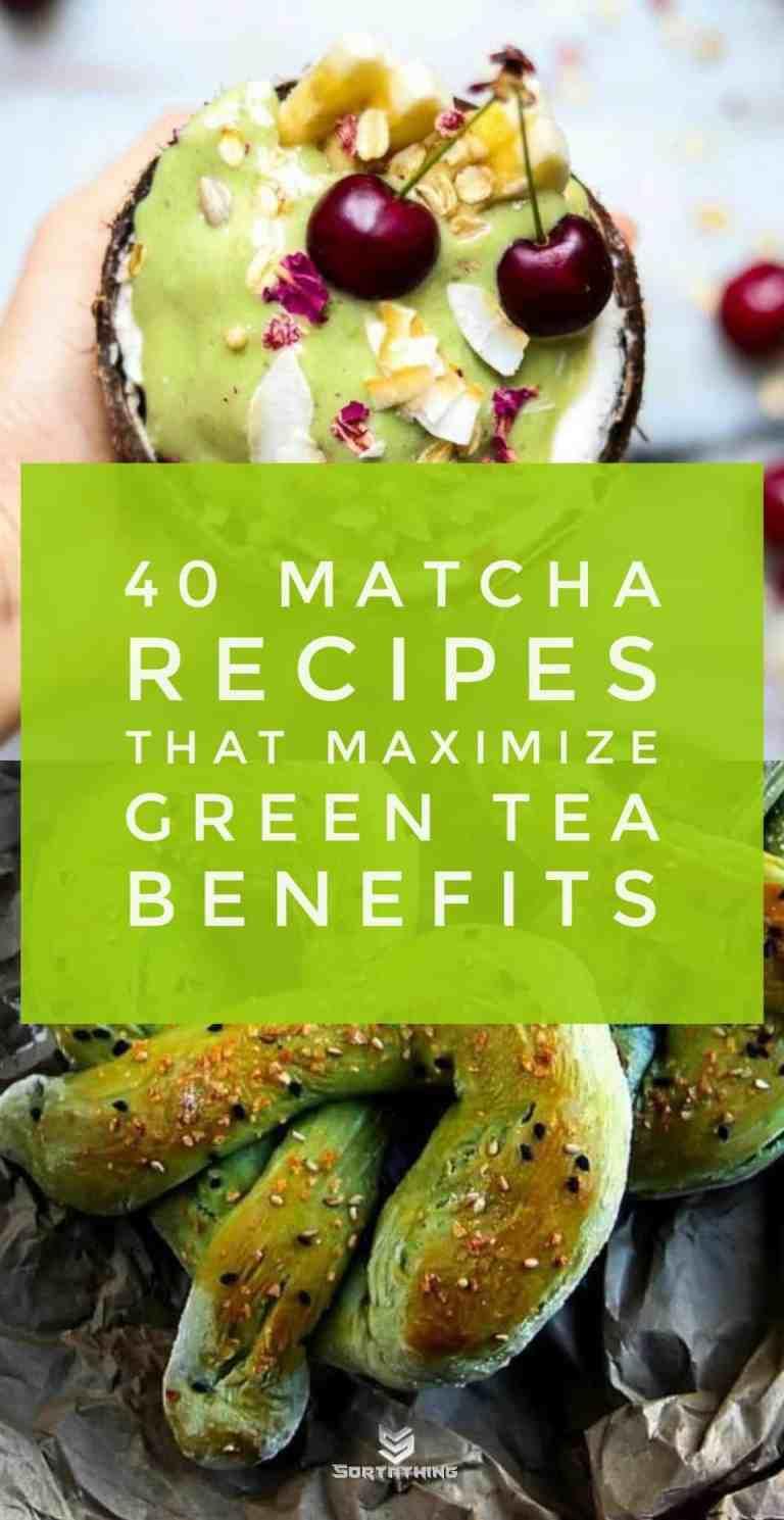 40 matcha recipes - nice ice cream & matcha pretzels