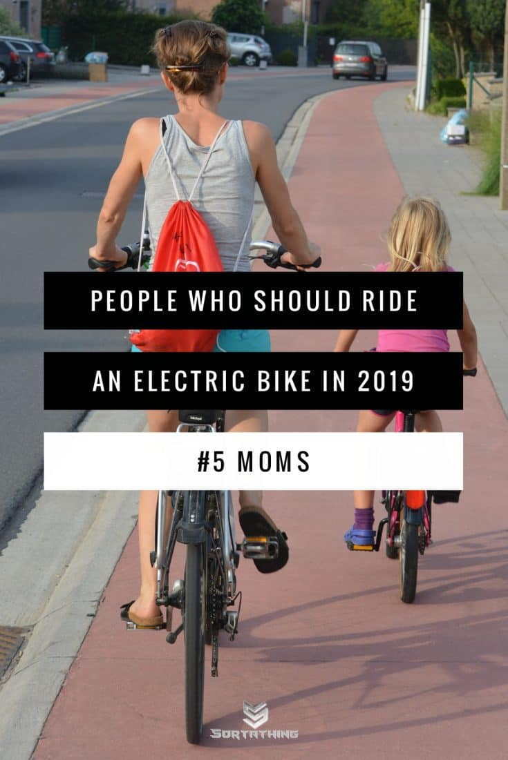 electric bikes for moms