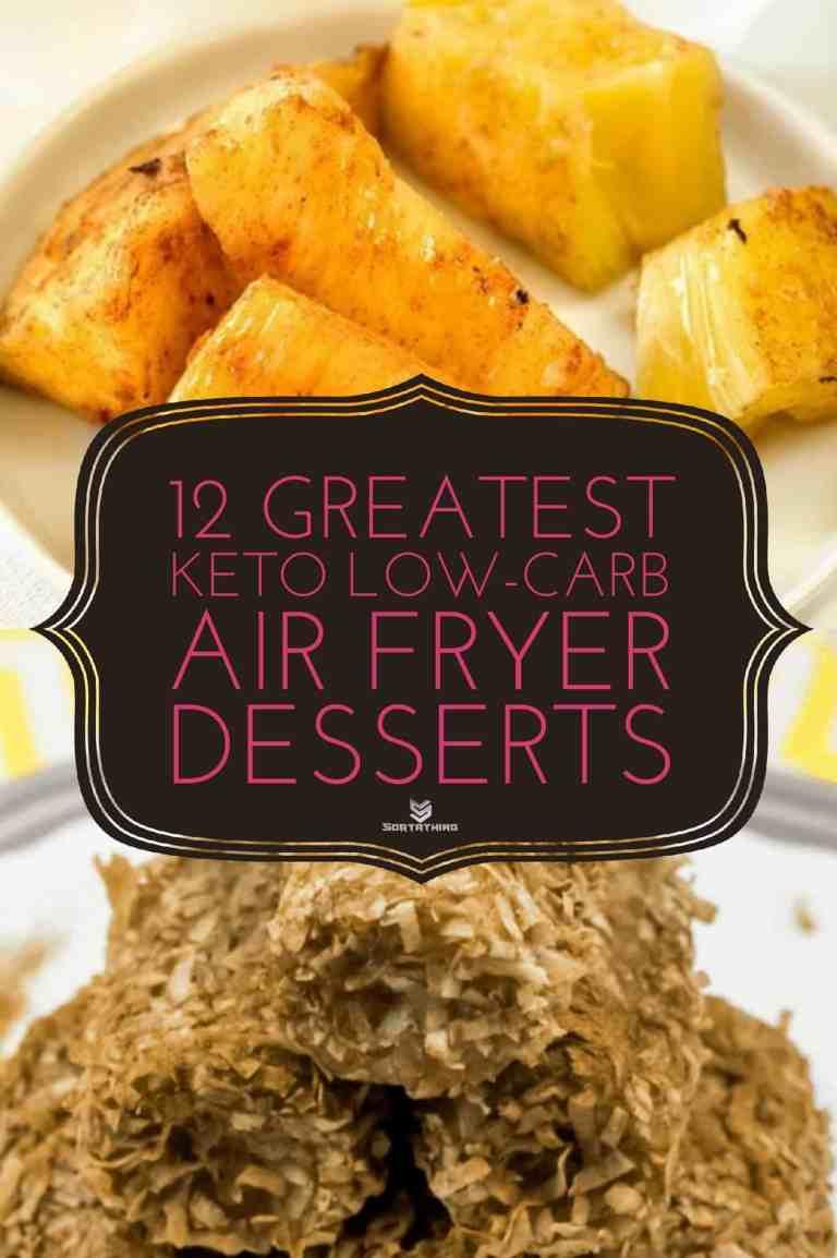 Air Fryer Brazilian Pineapple & Easy Air Fryer Paleo Coconut-Encrusted Cinnamon Bananas