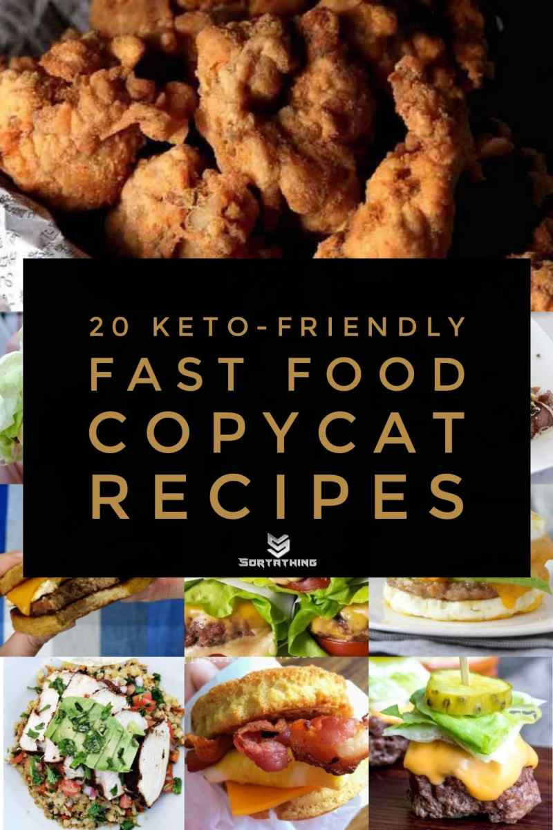 20 Keto-Friendly Fast Food Copycat Recipes