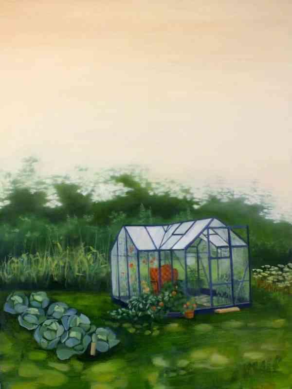 """Armchair Gardener"" - Open Edition Print by Lara Cobden"