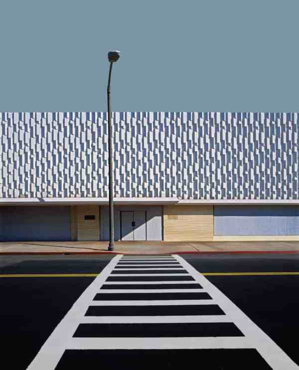 """Bellflower, Shopping Plaza - 4 of 9"" - Open Edition Print by Ed Freeman"