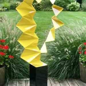 """Defiance Geometrical Sculpture"" - Original Artwork by Vadim Kharchenko"