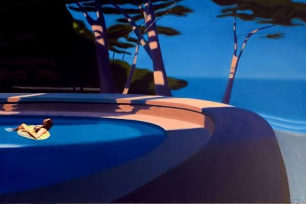 """Dream of a Late summer Afternoon"" - Original Artwork by Hugo Pondz"