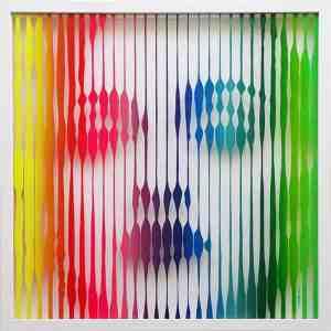 """Madonna (Rainbow)"" - Original Artwork by VeeBee VeeBee"