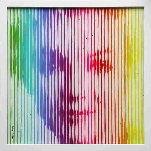 """""""Marilyn Monroe Rainbow 2"""" - Original Artwork by VeeBee VeeBee"""