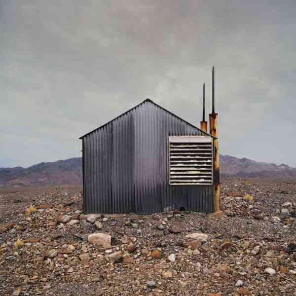 """Metal Shack, Stovepipe Wells CA - Edition 4 of 9"" - Original Artwork by Ed Freeman"