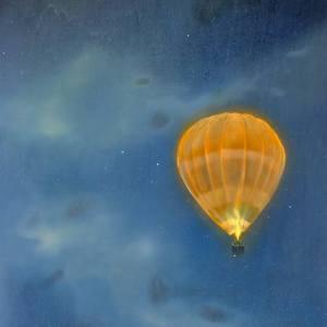 """""""Night Flight I"""" - Open Edition Print by Lara Cobden"""