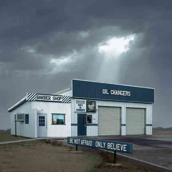 """Oil Changers, Mojave CA - Edition 4 of 9"" - Original Artwork by Ed Freeman"