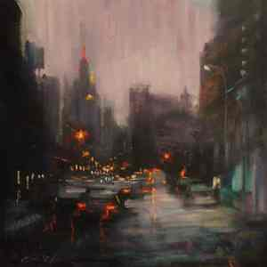 """""""Over Looking Empire State Building"""" - Open Edition Print by Chin h Shin"""