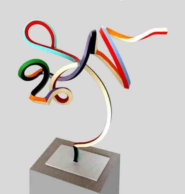 """Streamer 73"" - Original Artwork by Frans Muhren"