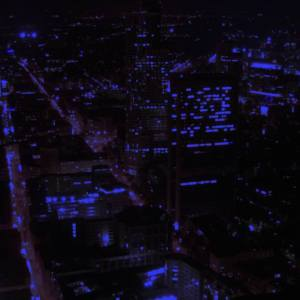 """Untitled (Blue Light 2)"" - Original Artwork by Jaykoe Artist"