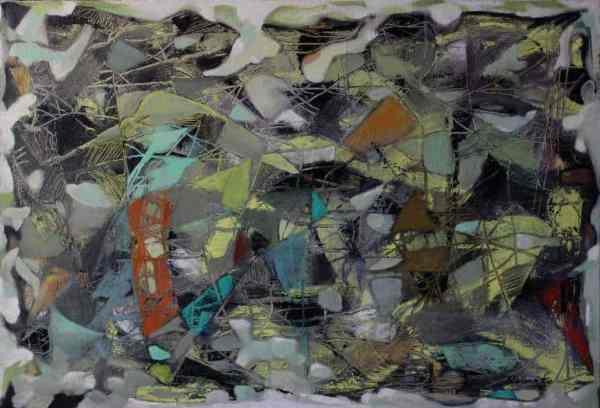 """Wall"" - Original Artwork by Roberto Yonkov"