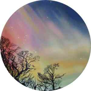 """""""Whistling at Aurora"""" - Open Edition Print by Lara Cobden"""