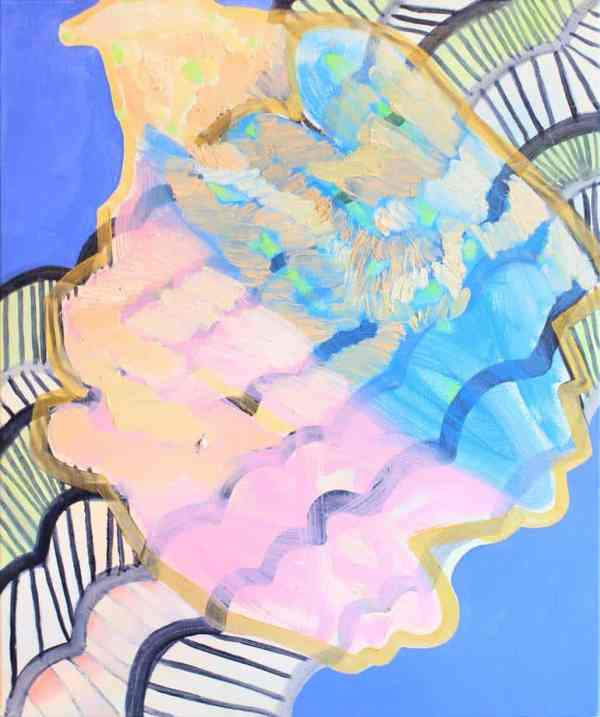 """""""Pink and blue"""" - Open Edition Print by Sofia Bracamontes"""