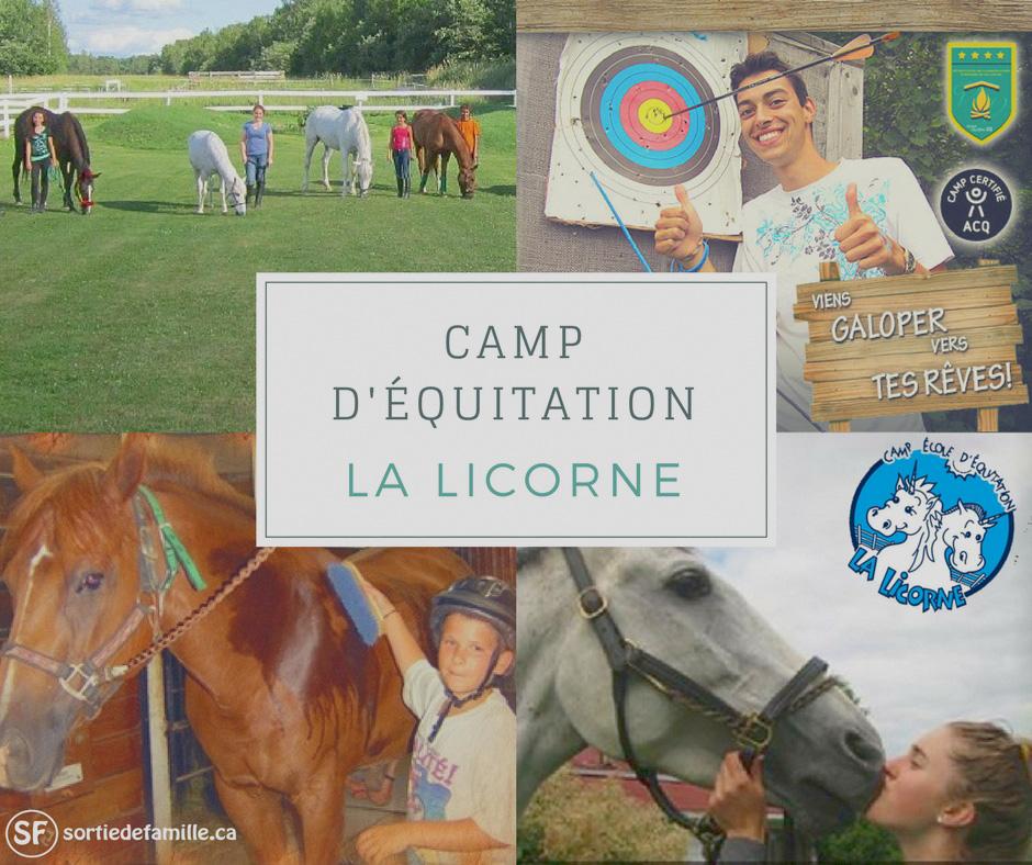 Camp d'équitation La Licorne