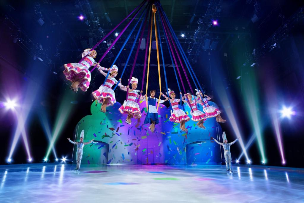 La belle et la bête Disney sur glace