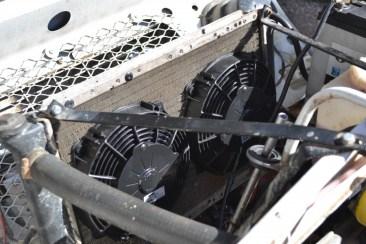 Montage de deux ventilateurs compétition SPAL.