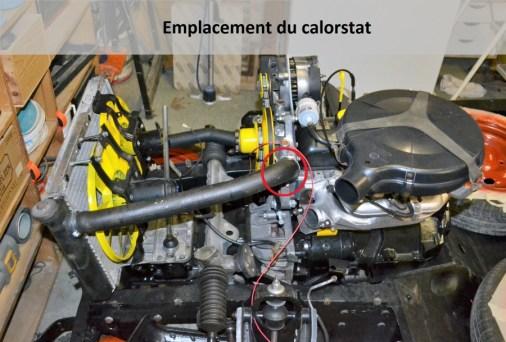 emplacement calorstat
