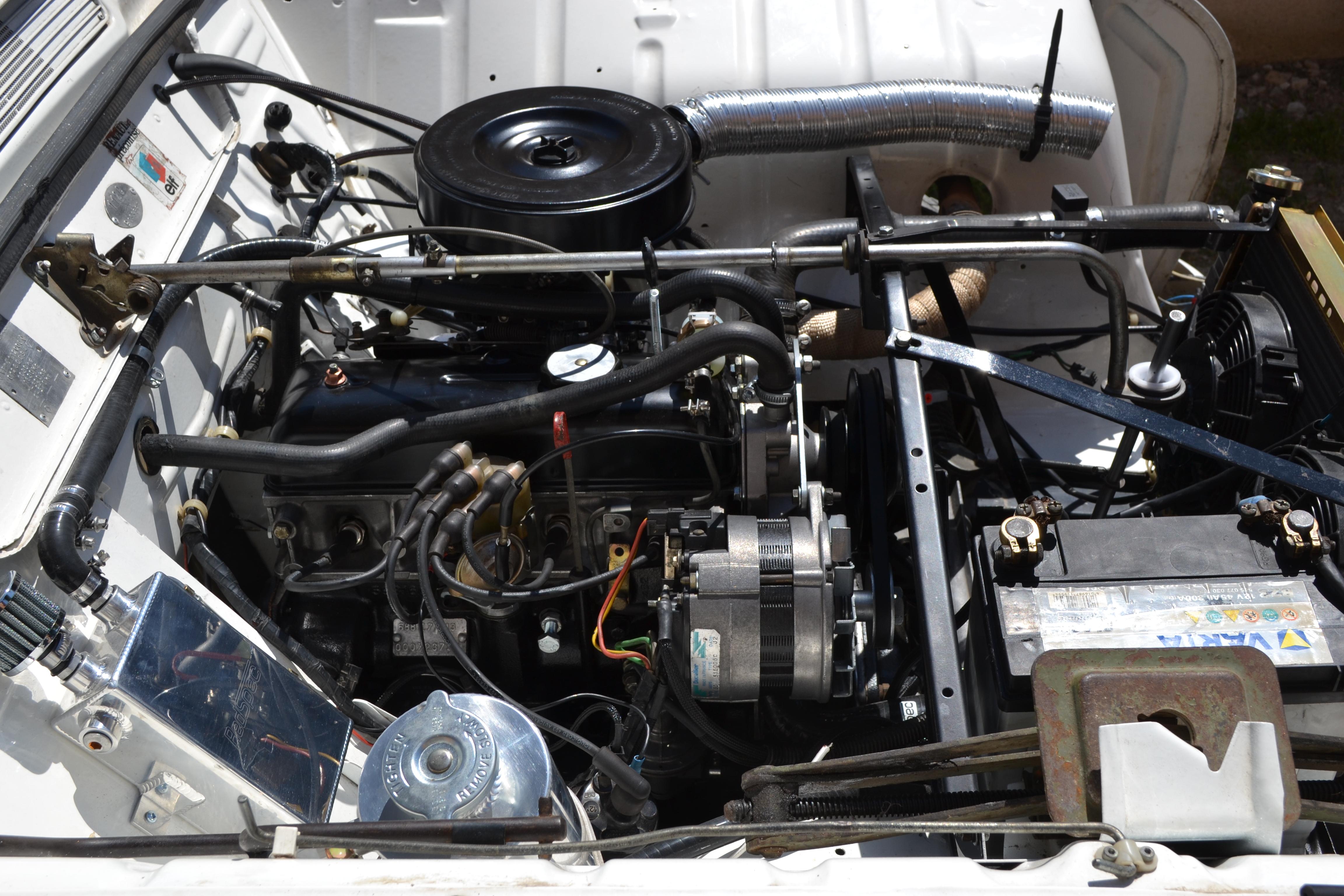 Booster moteur 4L