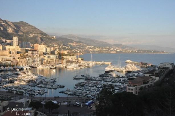Vue de Monaco - Brigitte-Lachaud
