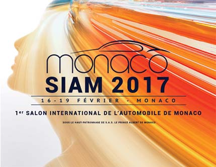 MONACO - PREMIER SALON AUTOMOBILE SIAM 2017