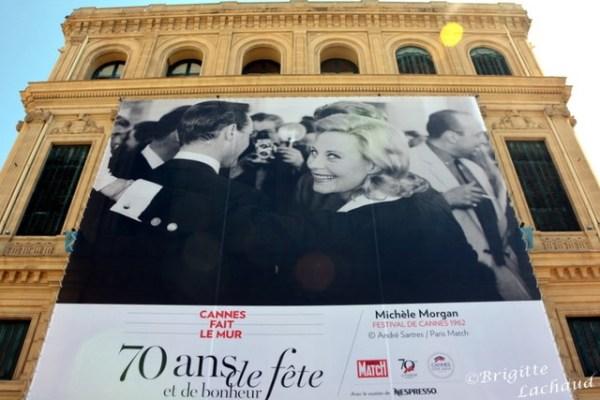 """FESTIVAL DE CANNES 2017 - EXPOSITION """"CANNES FAIT LE MUR"""""""