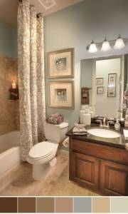 Best Color Schemes For Small Bathrooms