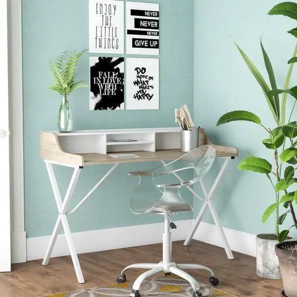 Uplifting small home office ideas ikea