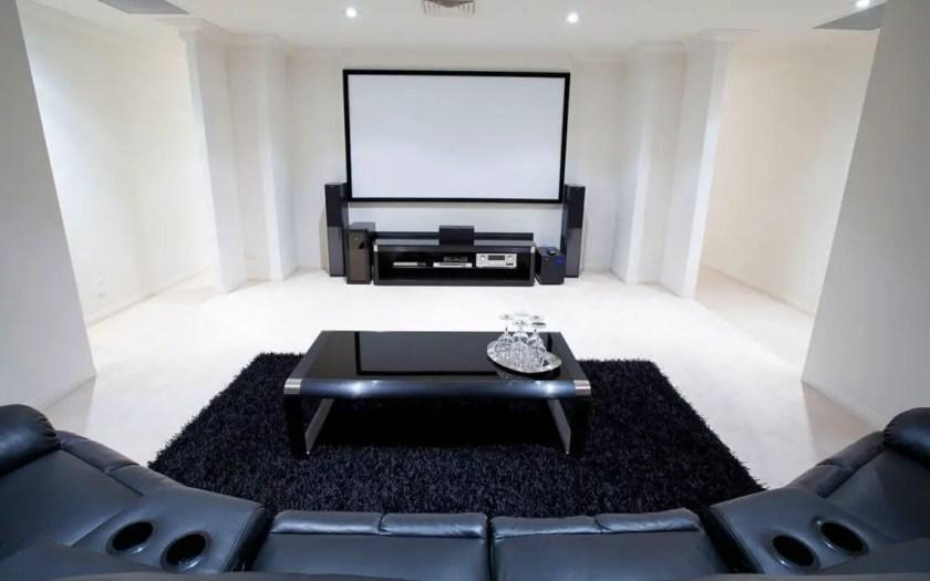 basement home theater decor
