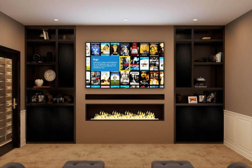 Front-View-basement-home-theater-designs
