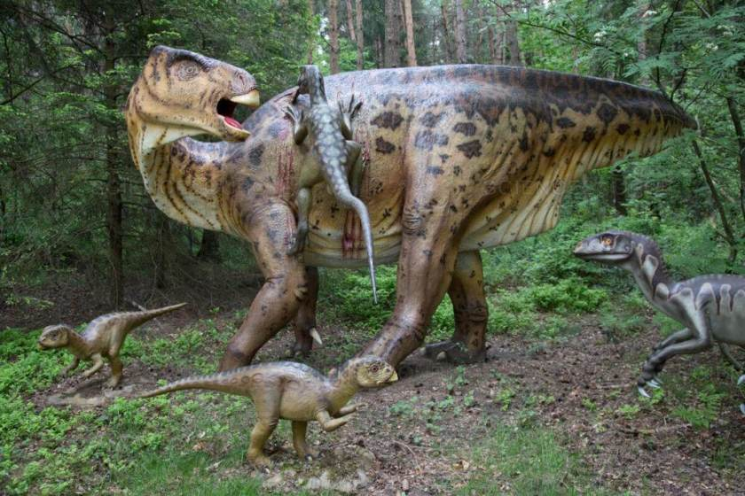 Dinosaur names - Edmontosaurus