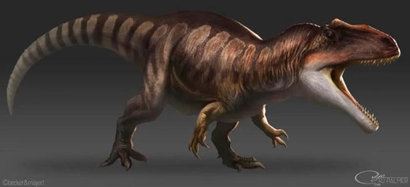 Dinosaur names - Giganotosaurus