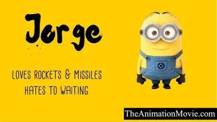 Minion Names - Jorge