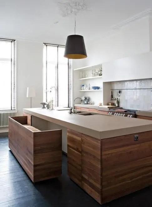 Awe-inspiring granite top kitchen island with seating #kitchen #kitchenisland #kitchendesign #kitchenideas