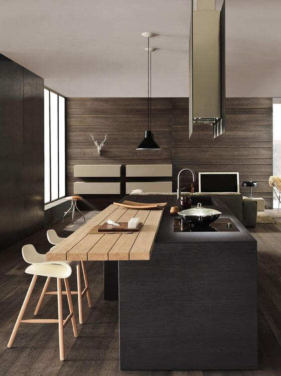 extraordinary modern kitchen island design ideas | 40 Awesome Kitchen Island Design Ideas with Modern Decor ...
