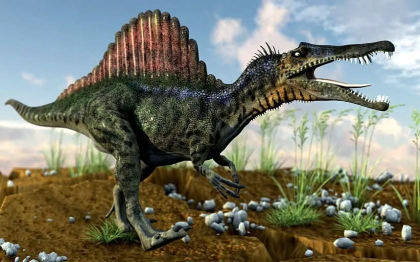 Dinosaur names - Spinosaurus