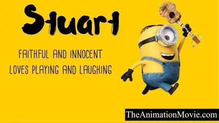 Minion Names - Stuart