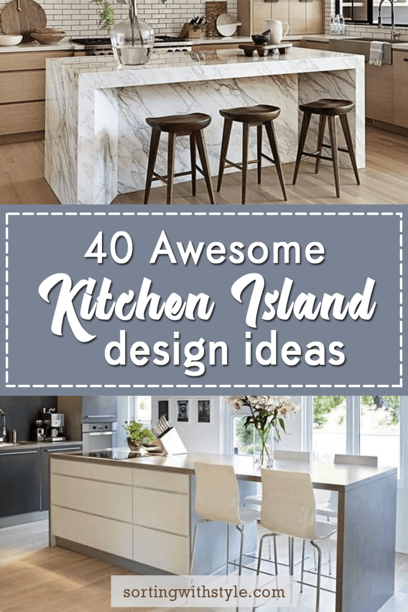 Awesome kitchen island design ideas #kitchen #kitchenisland #kitchendesign #kitchenideas