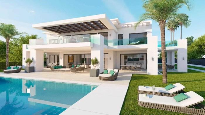 villa -types of houses